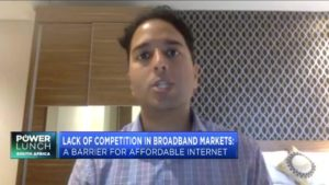 Lack of competition in broadband markets: A barrier to affordable internet