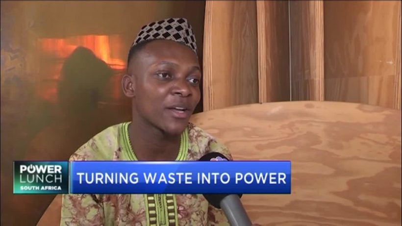 Cecil Chikezie on entrepreneurship, turning agricultural waste into sustainable energy