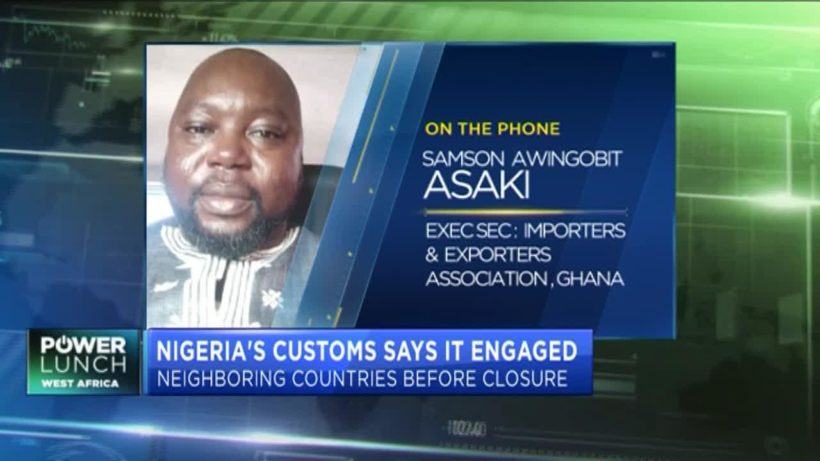 How Nigeria's closed borders impact trade with neighbouring Ghana