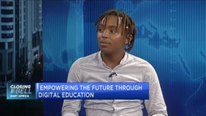 Kennedy Kanyi of AzaHub on how youth should be empowered through digital education