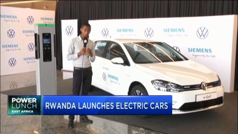 Rwanda recognises green mobility with launch of electric cars