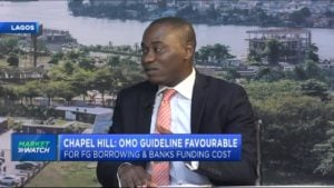 Chapel Hill: Liquidity in OMO market likely to reduce on OMO guideline