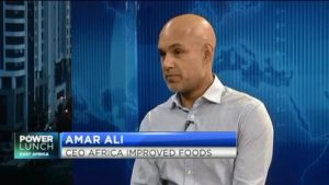Improved Foods CEO Amar Ali on the next decade of  Sustainable Development Goals