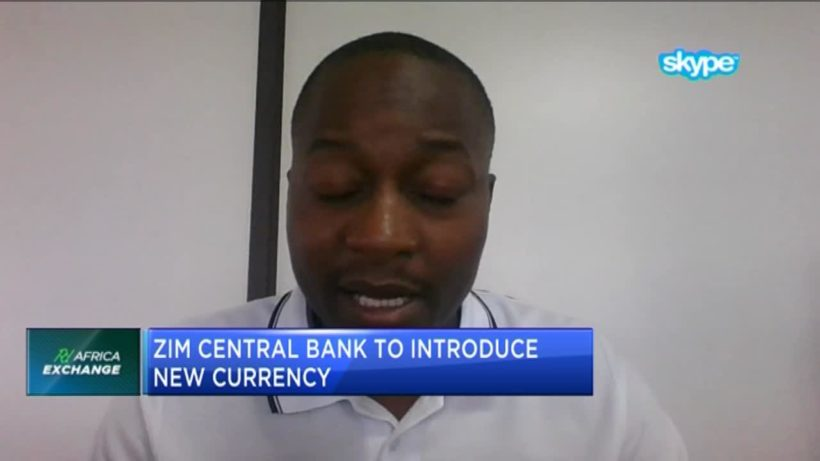 Zim central bank introduces new currency