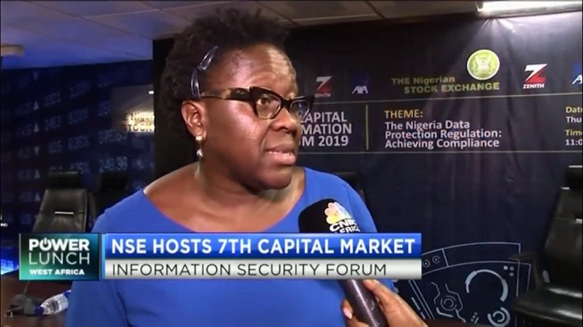 NSE's Tinuade Awe on the importance data protection regulation