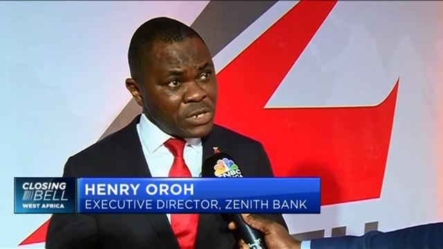 Oroh of Zenith Bank highlighting growth opportunities in Nigeria's non-oil exports