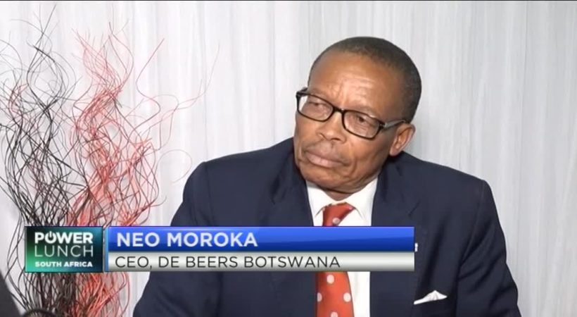 De Beers' Moroka on building a successful public-private partnership with Botswana