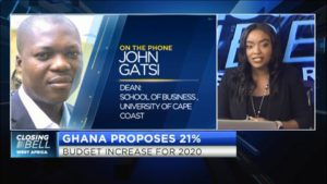 Ghana proposes 21% budget increase for 2020