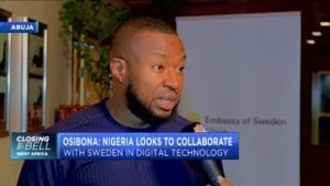 Osibona: Nigeria looks to collaborate with Sweden to advance digital technology
