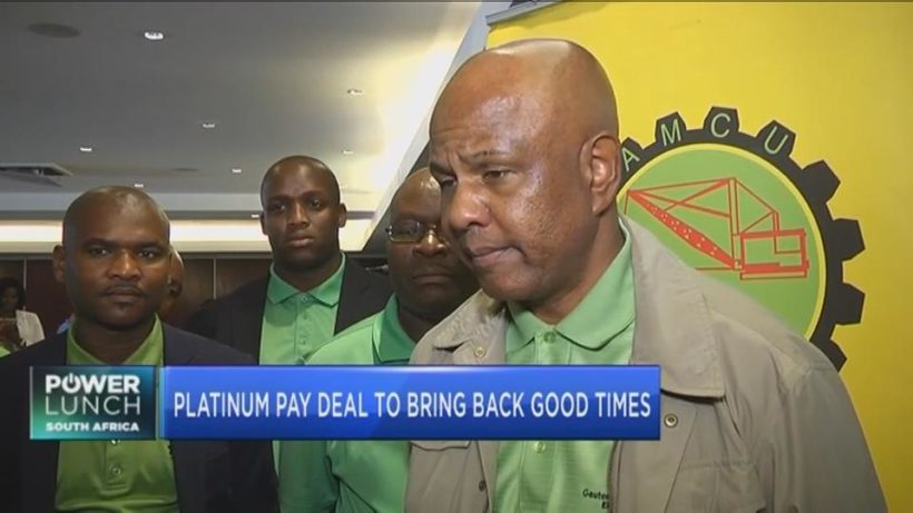 Platinum pay deal to bring back good times?
