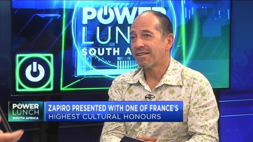 SA cartoonist Zapiro presented with top French cultural honours