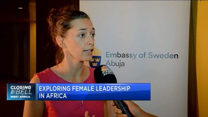 Estelle Westling: There's positive response to female leadership in Africa