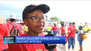 Numsa agrees wage deal to end SAA strike