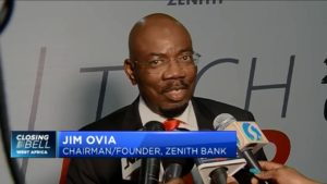 Lagos Tech Fair: Zenith Bank's Jim Ovia on how digitisation is helping solve local problems