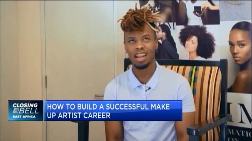 Ivan Mugemanyi on his journey to building a successful career as makeup artist