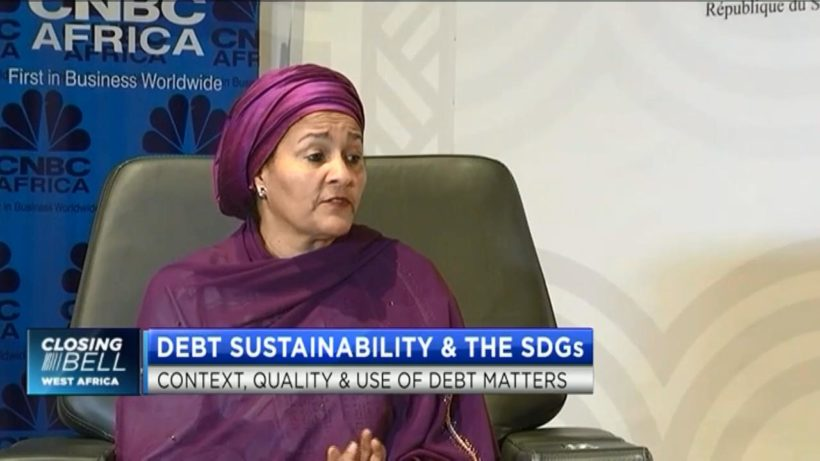 Sustainable Development, Sustainable Debt: The context, quality and the use of debt matters, says UN's Amina Mohammed