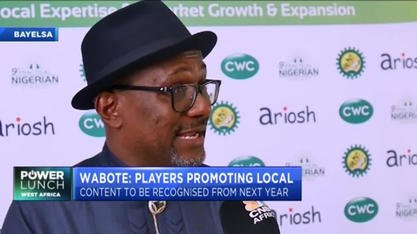 Simbi Wabote: How Nigeria plans to increase local players in the oil and gas sector