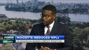 Moody's: Reduced NPLs in Nigerian banks credit positive