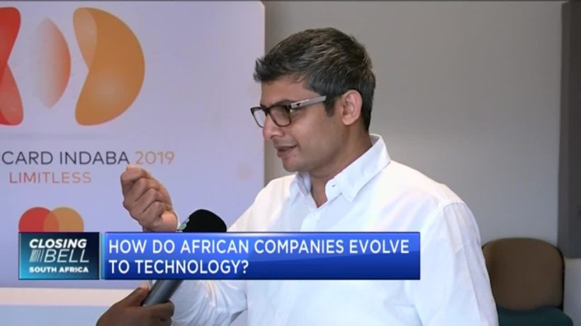 How do African companies evolve to technology?