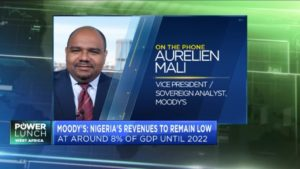Moody's clears air on Nigeria's negative rating outlook