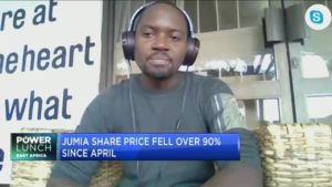 How does Jumia's setbacks impact other African start-ups?