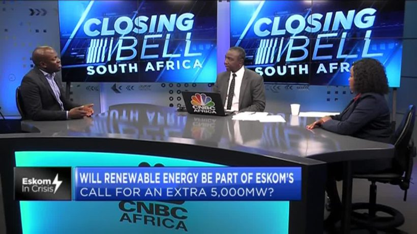 Are renewables part of Eskom's call for an extra 5000MW?