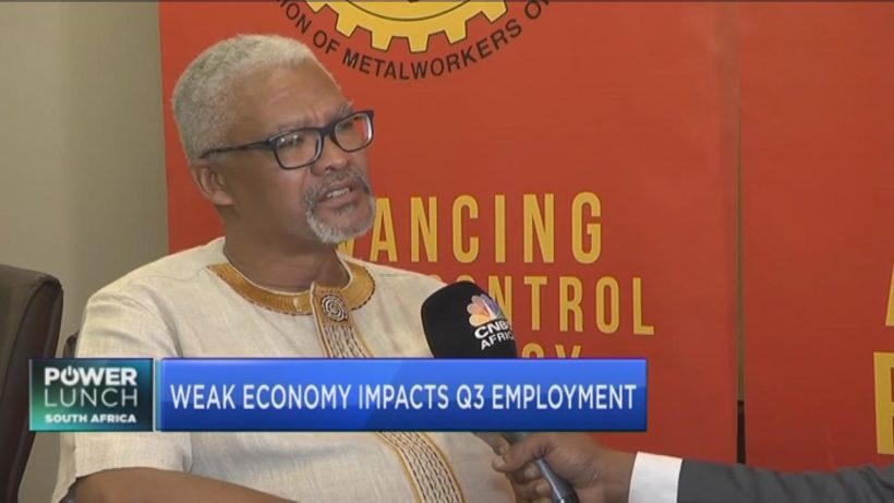 Numsa's Karl Cloete on what's behind the mass job losses in South Africa