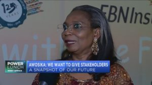 First Bank's Ibukun Awosika on the company's future plans
