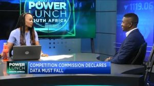 Competition Commission of SA rides 'data must fall' wave