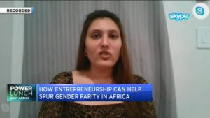 Anu Shah of EFI Hub on how new entrepreneurship initiative can help spur gender parity in Africa