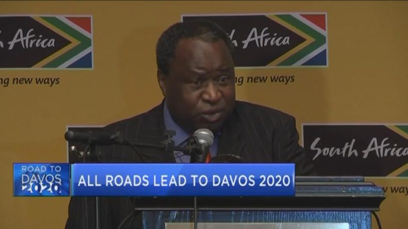 FinMin Mboweni on Davos, budget, thieves, rats and mice
