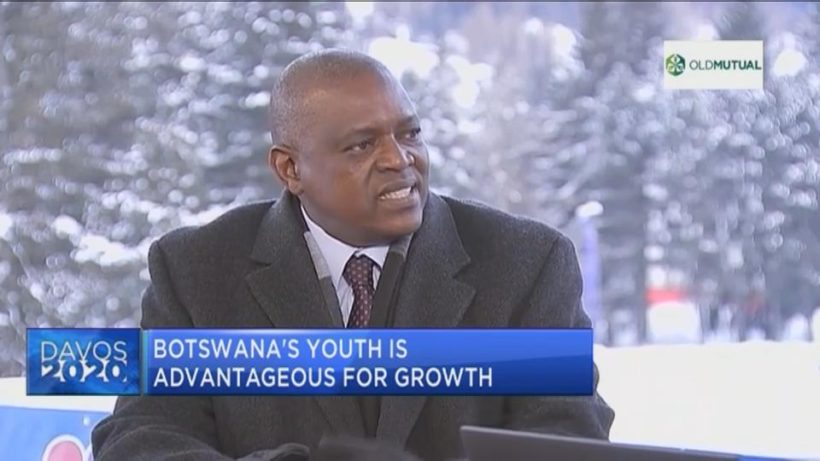 World Economic Forum: Botswana's Mokgweetsi Masisi on why the youth, leapfrogging present a big advantage for the country's growth