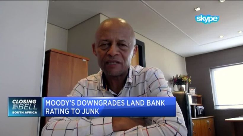 Downgrade material for Land Bank, to consult lenders