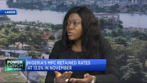 Vetiva: Nigeria MPC decision to hinge on evolving growth-inflation dynamics in domestic economy
