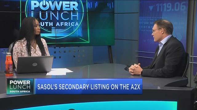 Kevin Brady: What Sasol's secondary listing means for A2X
