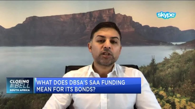 This is the cost on DBSA for bailing out SAA