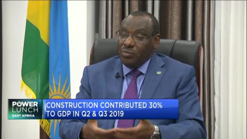 Minister Claver Gatete outlines Rwanda's infrastructure targets