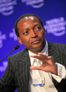 African billionaire Dr Patrice Motsepe apologises for Trump comments at Davos dinner