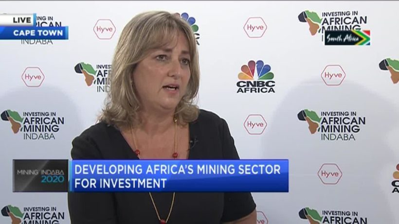 #MiningIndaba2020: Tharisa Minerals' Michelle Taylor on what self-generation means for junior miners