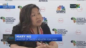 #MiningIndaba2020: Canadian Minister Ng on deepening trade ties with Africa