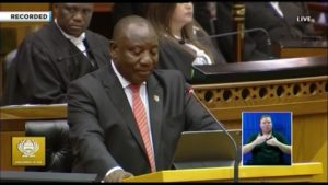 Tracking business, market reaction to Ramaphosa's State of the Nation Address