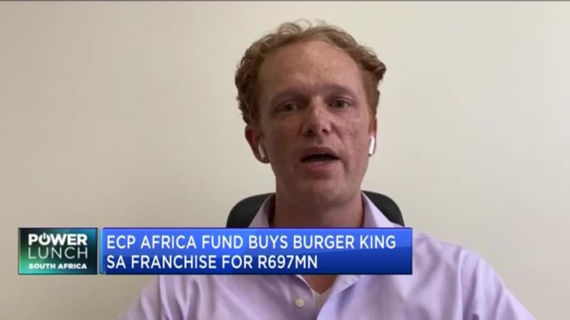 ECP Africa buys Burger King SA franchise for R697mn