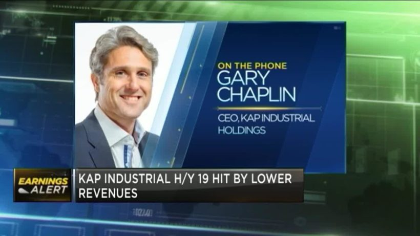 Polymer business weighs on Kap Industrial's H1 revenue