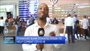 Standard Bank donates R750 000 to help combat COVID-19