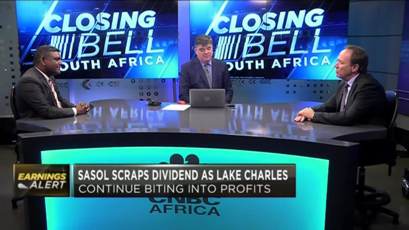 Sasol scraps dividend as Lake Charles continue to bite into profits