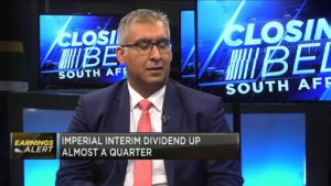 Imperial's H1 dividend up almost a quarter