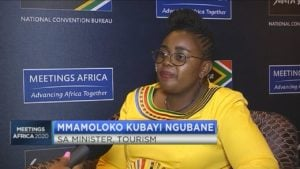 #MeetingsAfrica2020: Minister Kubayi-Ngubane on how SA can become a top business, holiday destination & the impact of COVID-19