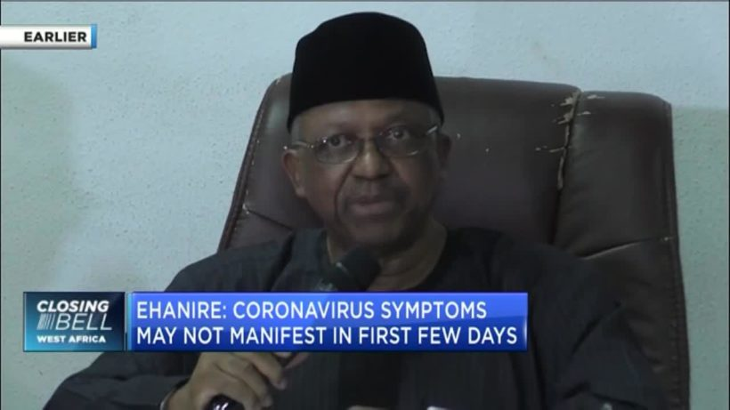 Health Minister Osagie Ehanire gives update as Nigeria confirms 1st coronavirus case