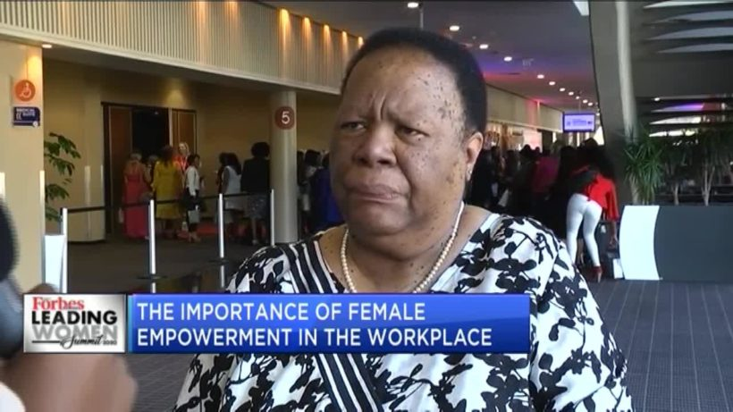#LWS2020KZN: Naledi Pandor on the importance to female empowerment in the workplace