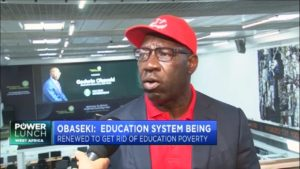 Governor Godwin Obaseki outlines priorities for Edo State